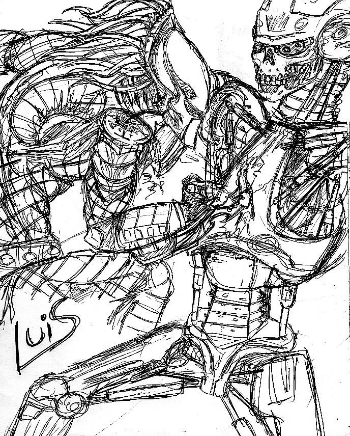 Terminator Versus Predator by TheWallProducciones