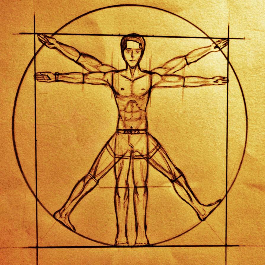 Da Vinci Uomo Vitruviano by TheWallProducciones on DeviantArt