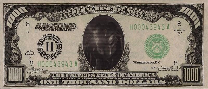 Yautja Dollar by TheWallProducciones