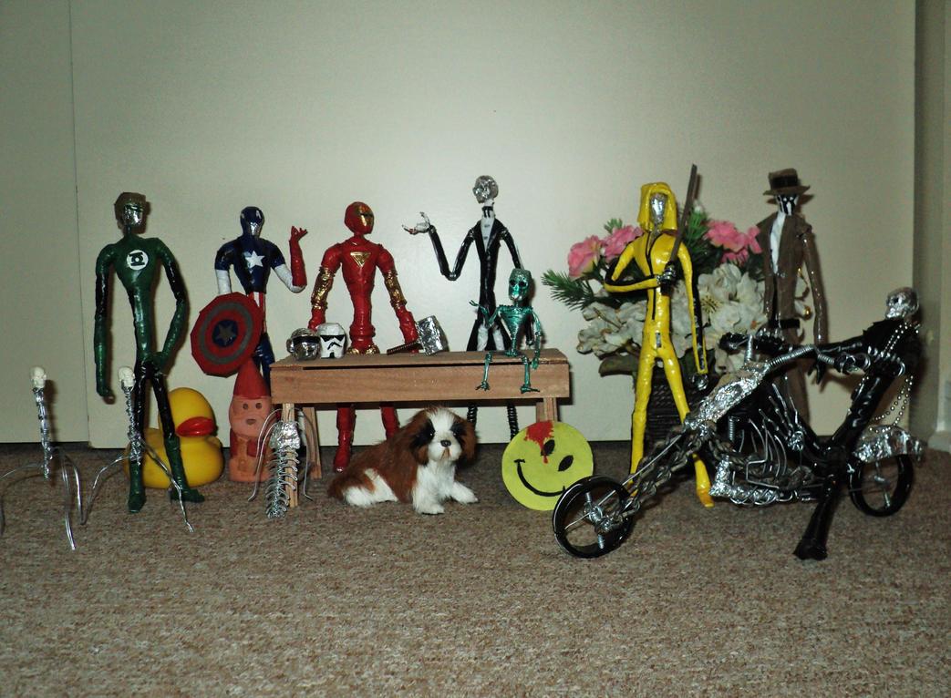 Funny party in wire by TheWallProducciones