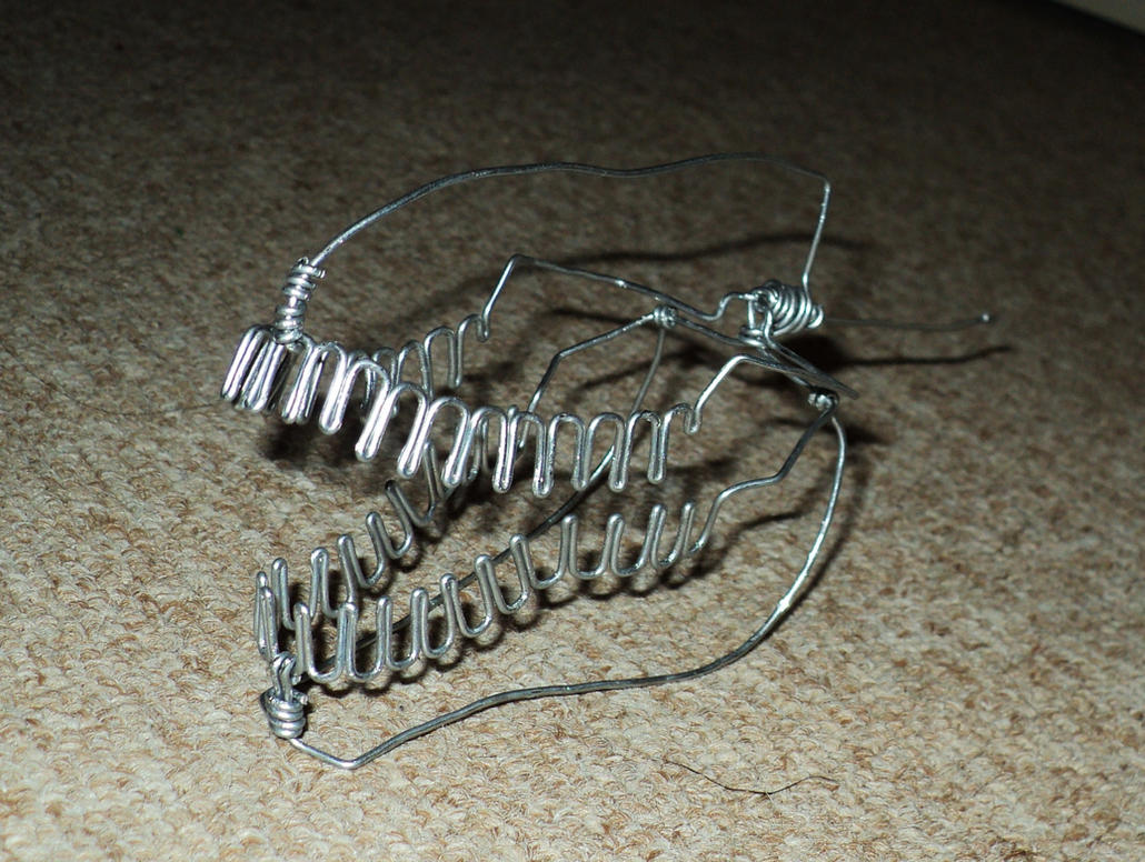 UNFINISHED T-REX HEAD in wire by TheWallProducciones on DeviantArt