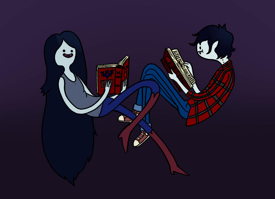 Marceline x Marshall Lee by TheWallProducciones
