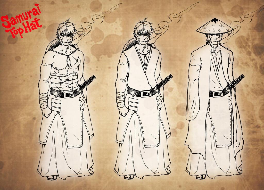 Samurai Tophat fanart by KENSHINRO7