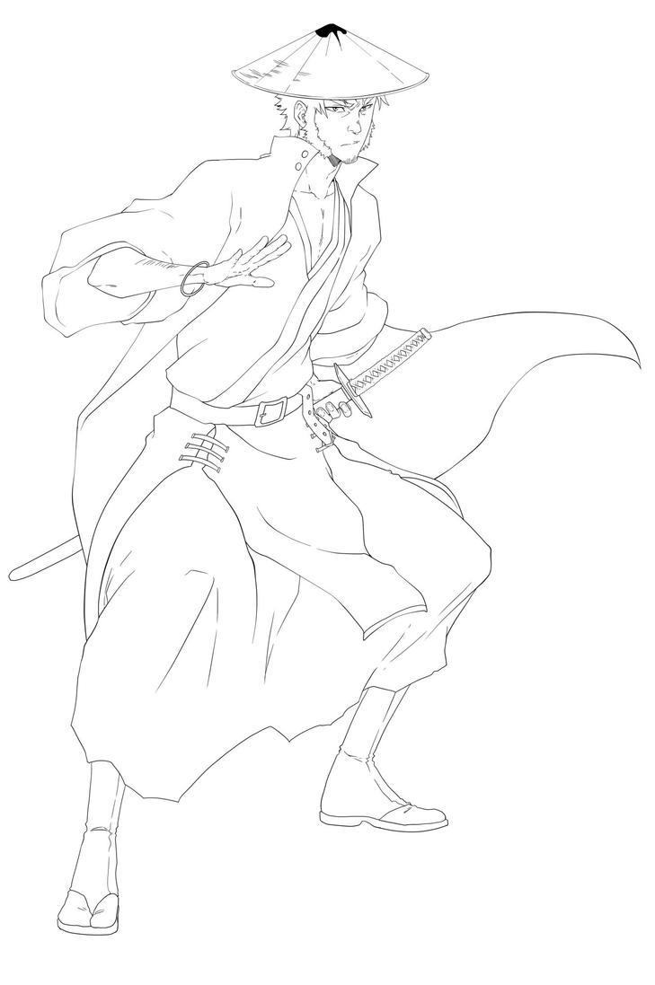 Samurai Tophat Takeo! by KENSHINRO7
