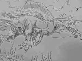 Spinosaurus by BenitoDLR