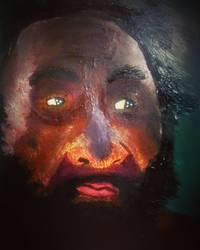 Neanderthal (Oil Painting)