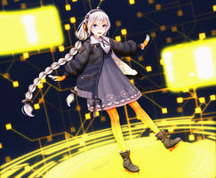 (MMD) Kizuna Akari by mary34