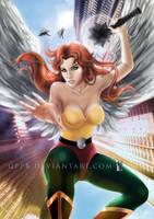 Hawkgirl by gppr