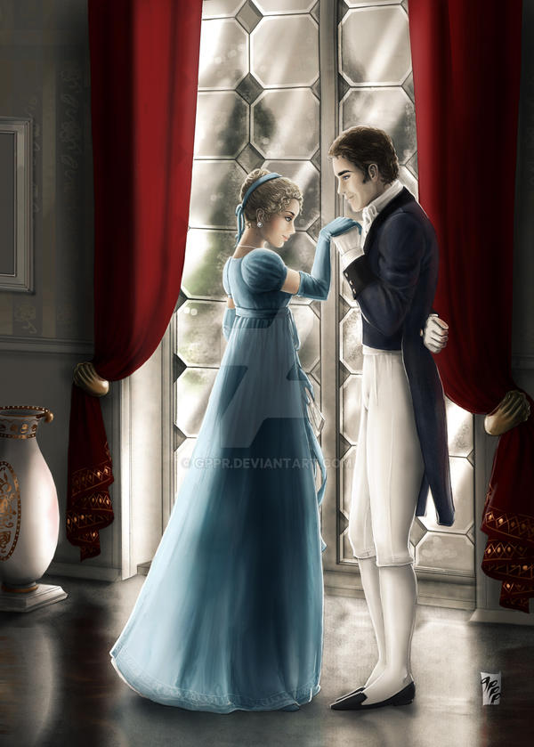 Jane Bennet and Colonel Fitzwilliam