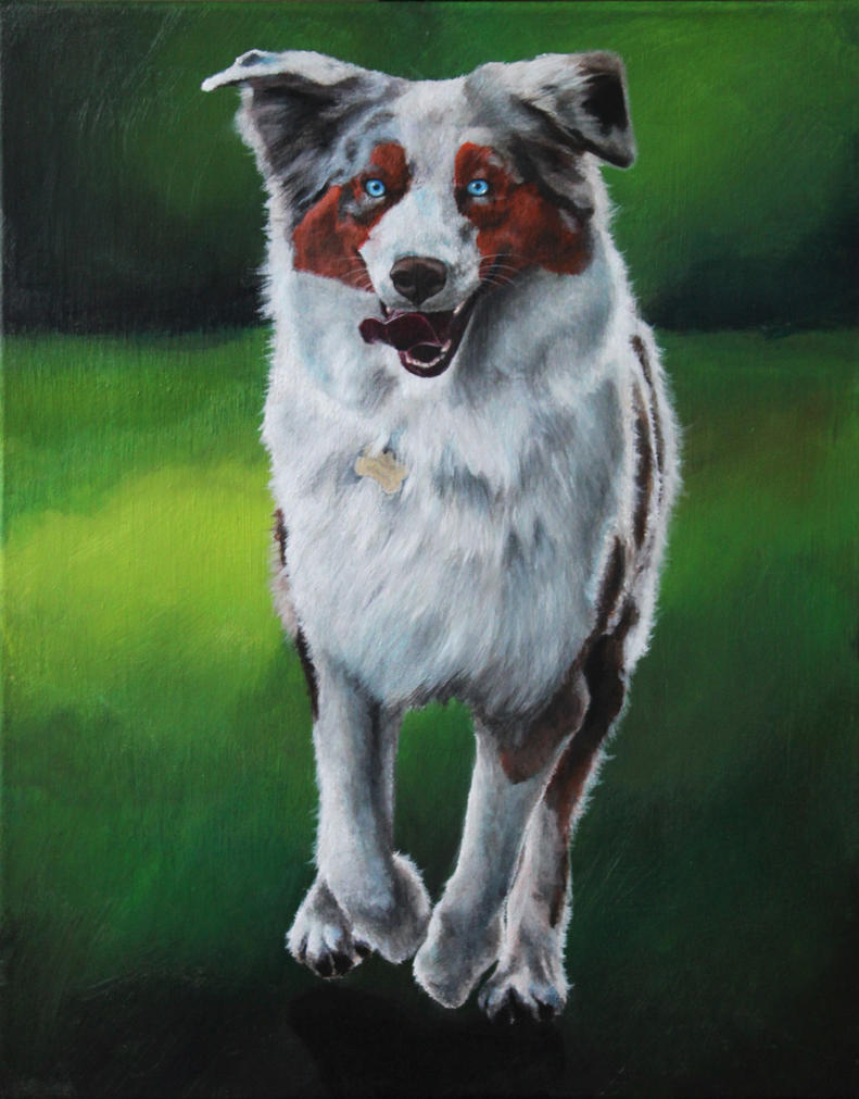 Painting - Ace by IamFuyori