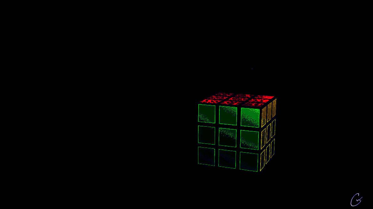 Rubik S Cube Wallpaper By Eastcoast720 On Deviantart