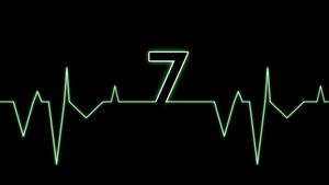 Green Electrocardiogram Windows 7 Wallpaper by JaidynM