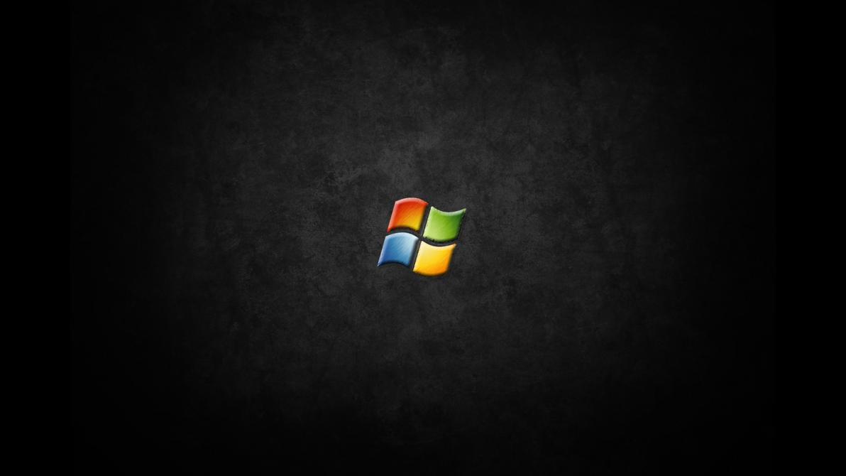 black windows 7 wallpaper by jaidynm on deviantart