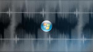 Shadowed Blue Windows 7 Wallpaper by JaidynM
