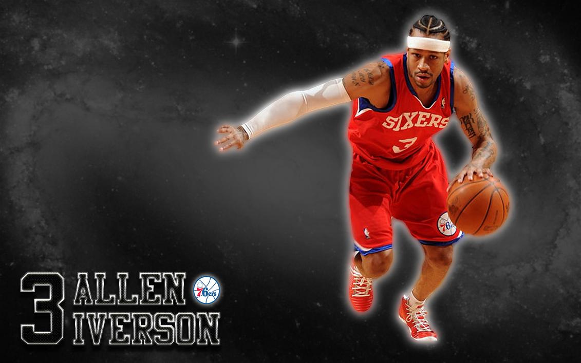 Allen Iverson (Philadelphia 76ers) Wallpaper by JaidynM
