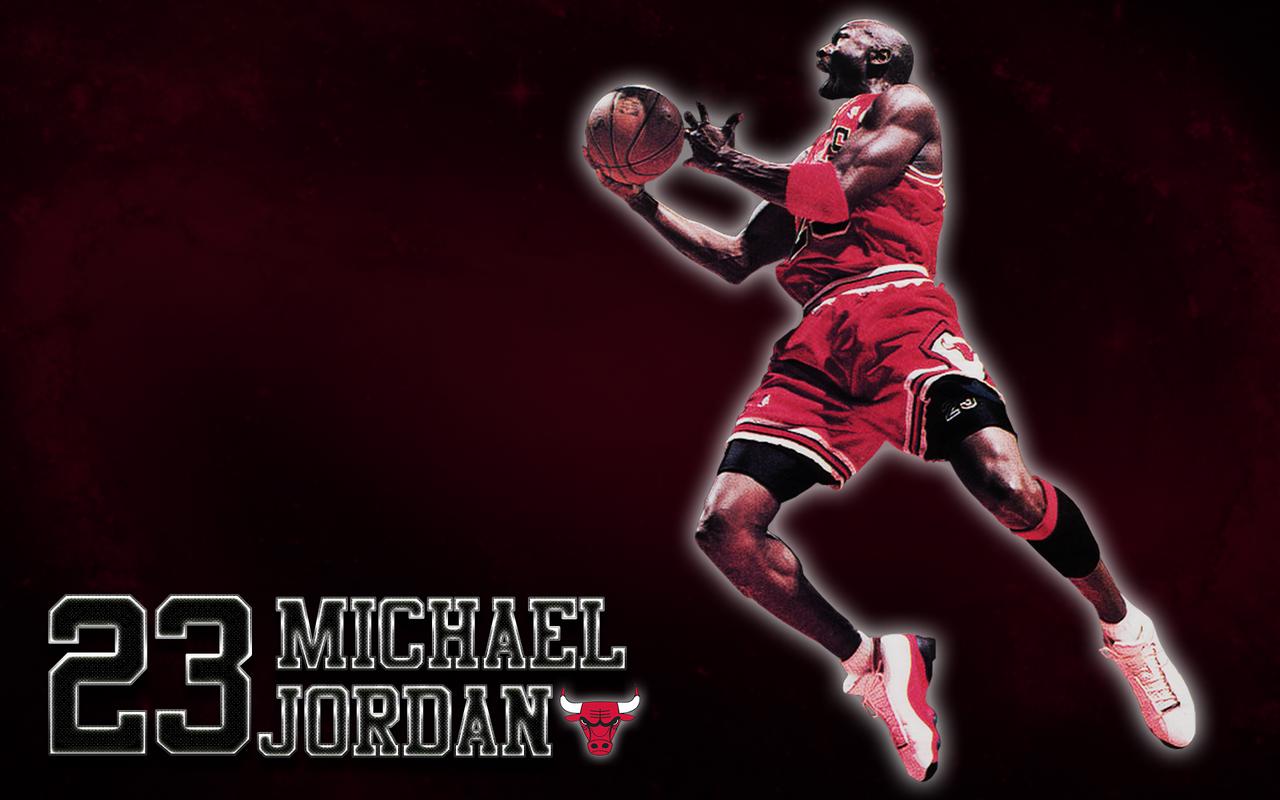 Michael Jordan (Chicago Bulls) Wallpaper by JaidynM
