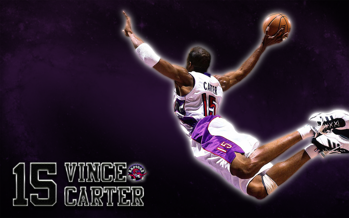 Vince Carter (Toronto Raptors) Wallpaper by JaidynM