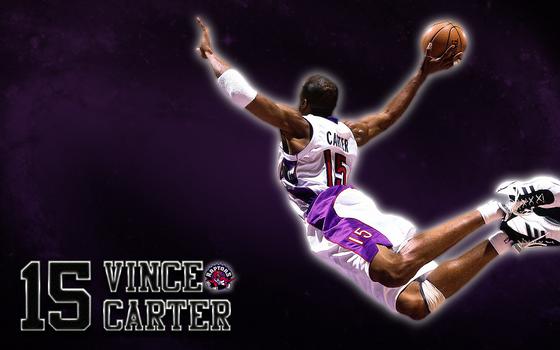 Vince Carter (Toronto Raptors) Wallpaper