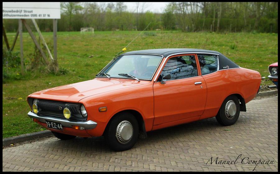1975 Datsun 120Y Deluxe by compaan-art on DeviantArt