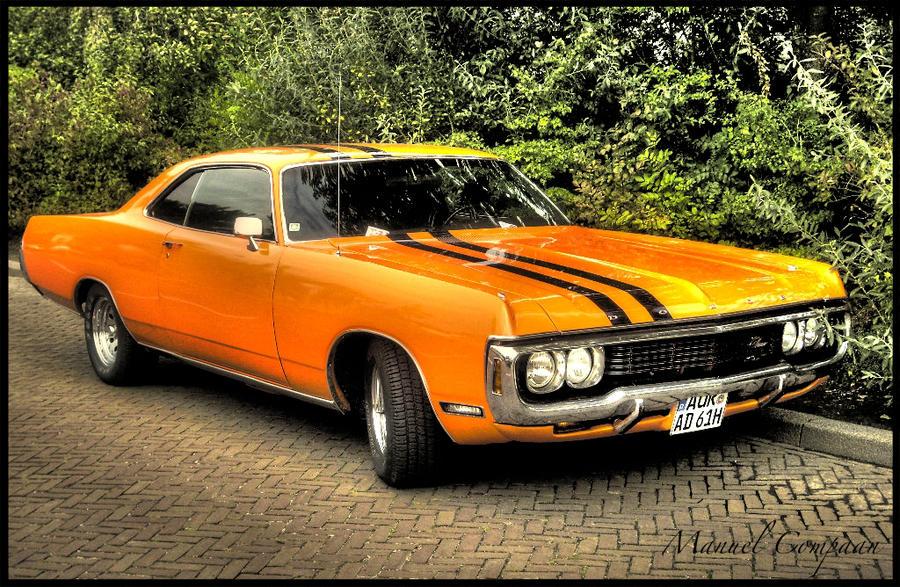 1971 Dodge Monaco By Compaan Art On Deviantart