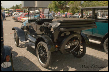 1923 Ford Model T rear by compaan-art