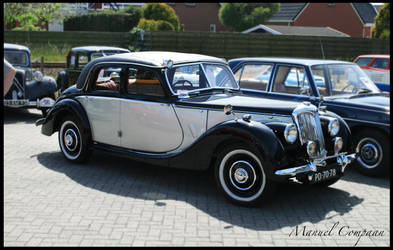 1948 Riley 2.5 Litre by compaan-art