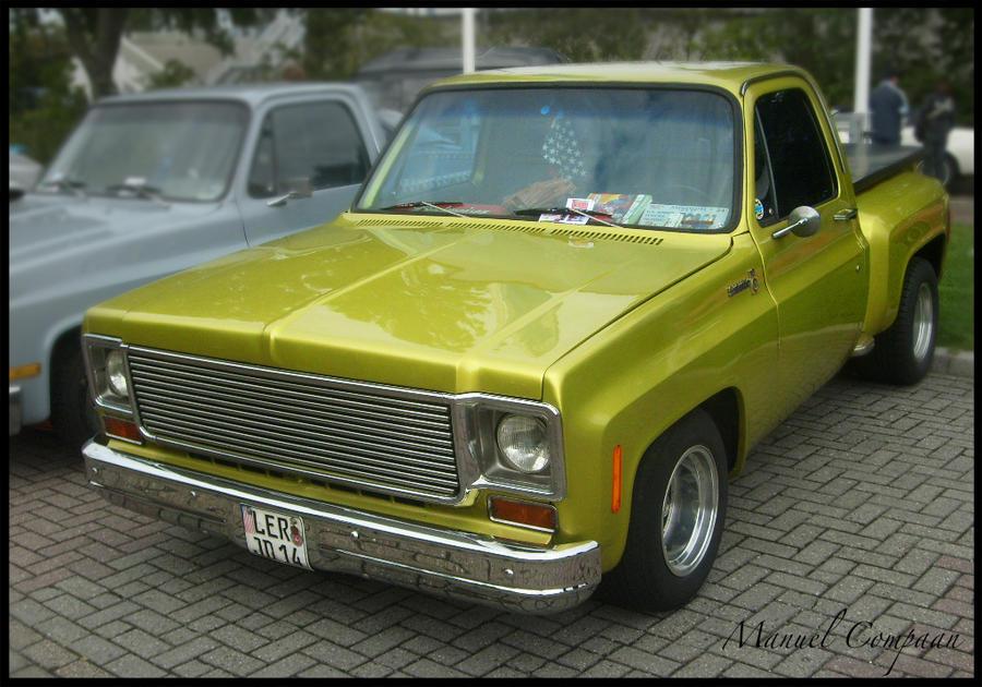 1975 Chevrolet Stepside Pickup by compaan-art on DeviantArt