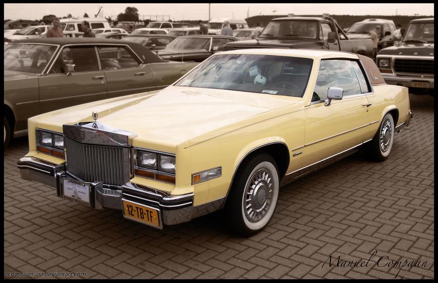 1981 Cadillac Eldorado by compaan-art on DeviantArt