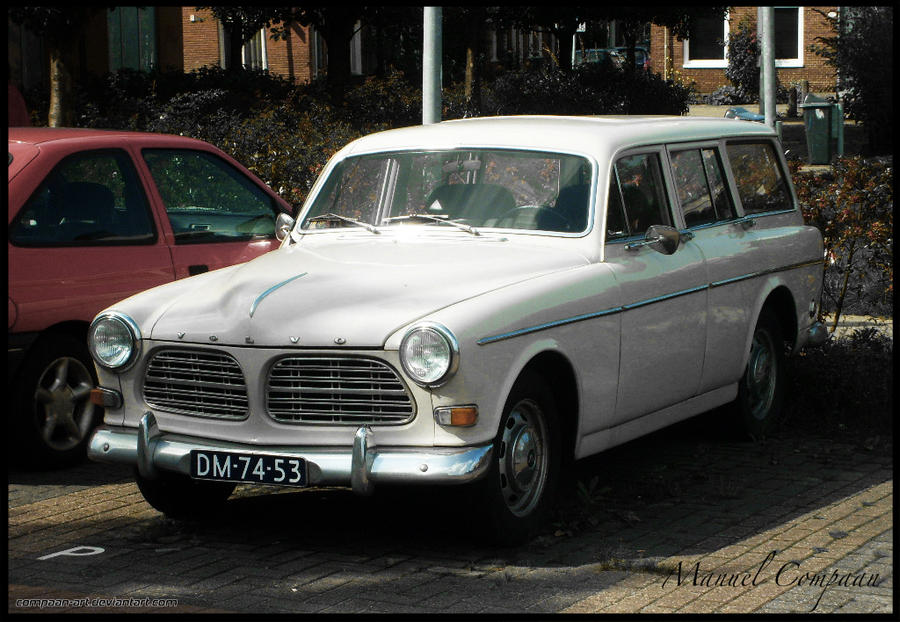 1967 Volvo Amazon Wagon by compaan-art on DeviantArt