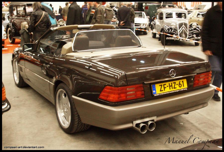 1989 mercedes benz sl500 by compaan art on deviantart for Mercedes benz sl 2010