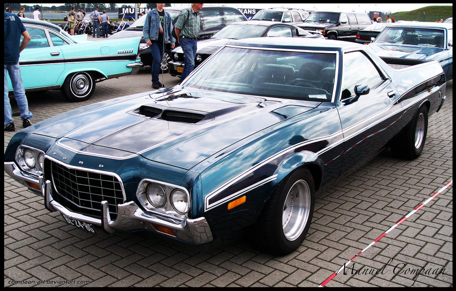 1972 ford ranchero by compaan art