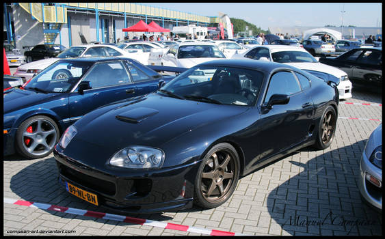 9f425d29e1c Ajaxial 26 13 1994 Toyota Supra Twin Turbo by compaan-art