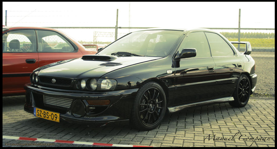 1998 subaru impreza gt turbo by compaan art on deviantart. Black Bedroom Furniture Sets. Home Design Ideas