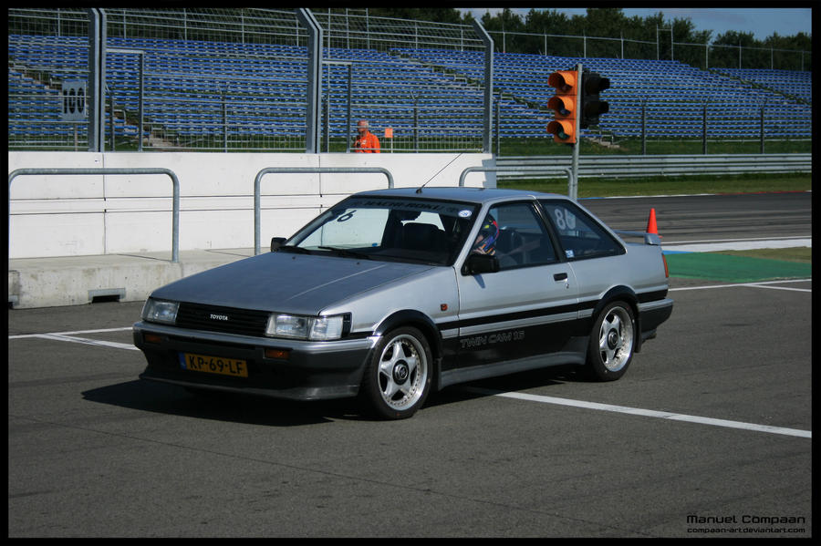 1984 Toyota Corolla Coupe by compaan-art on DeviantArt