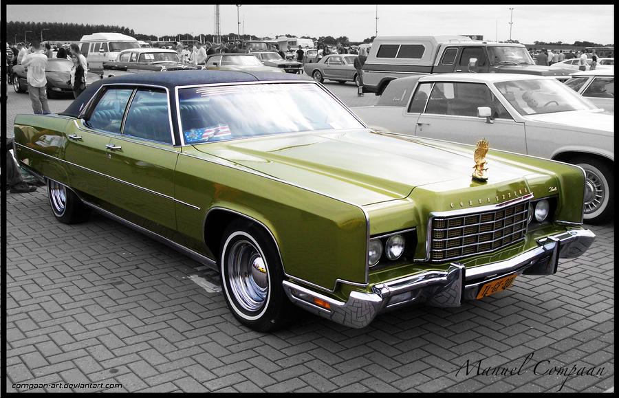 1972 Lincoln Continental by compaan-art on DeviantArt