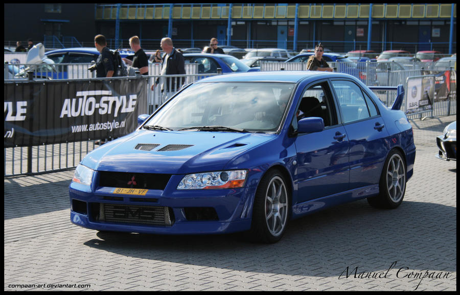 2002 Mitsubishi Lancer Evo 7 by compaanart on DeviantArt