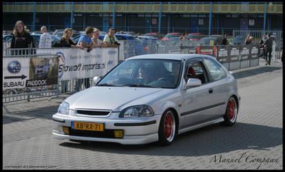 1998   Honda Civic by compaan-art
