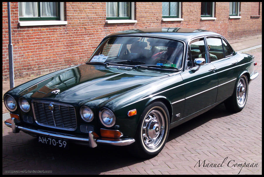 Great 1972 Jaguar XJ6 By Compaan Art ...