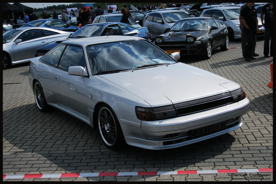 1988 Toyota Celica by compaan-art on DeviantArt