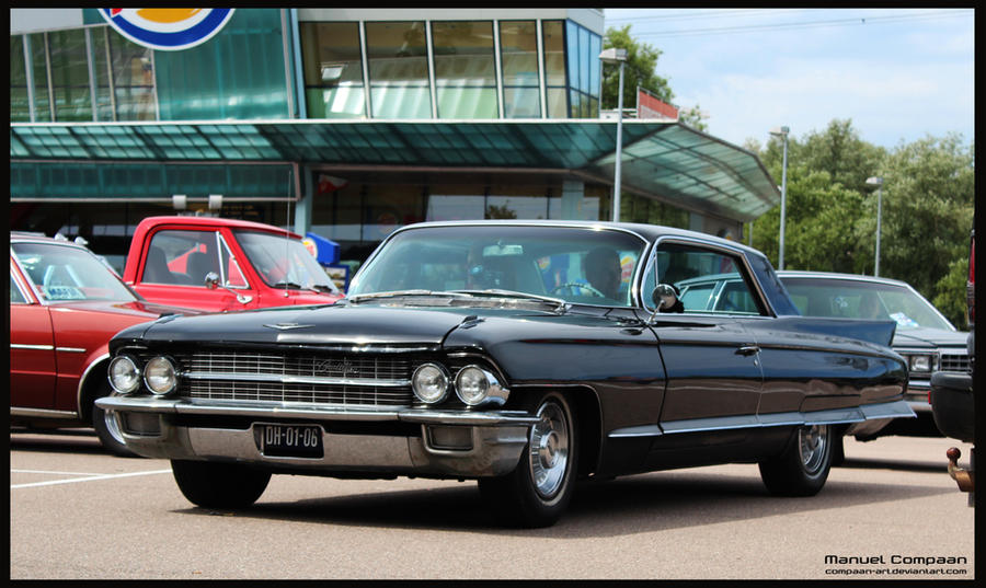 1962 Cadillac Coupe De Ville by compaan-art on DeviantArt