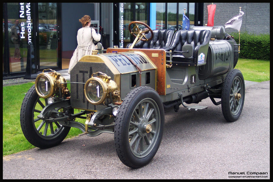 1907 Itala 35-45 HP by compaan-art