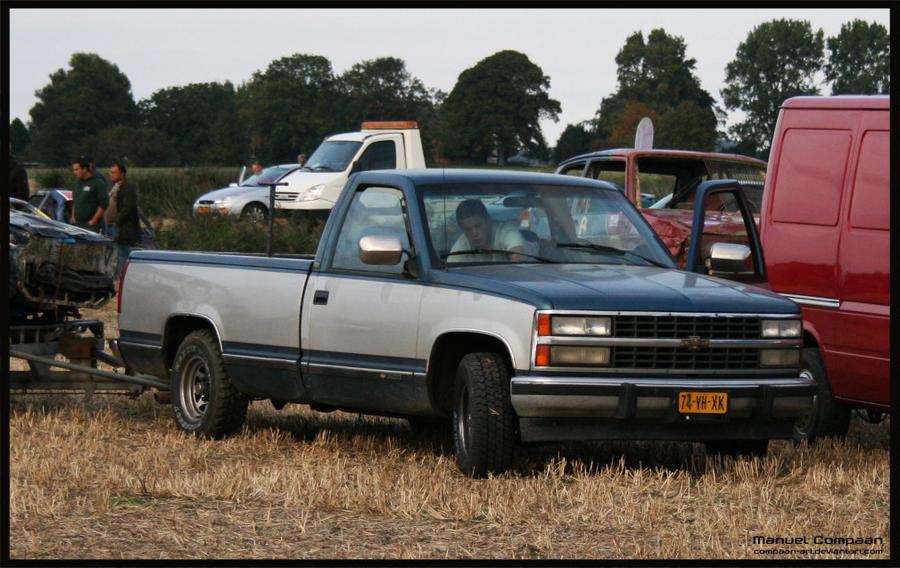 1991 Chevy Silverado 1500 by compaan-art on DeviantArt