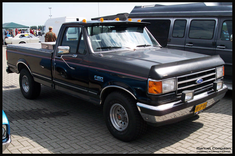 1990 Ford F150 by compaan-art on deviantART