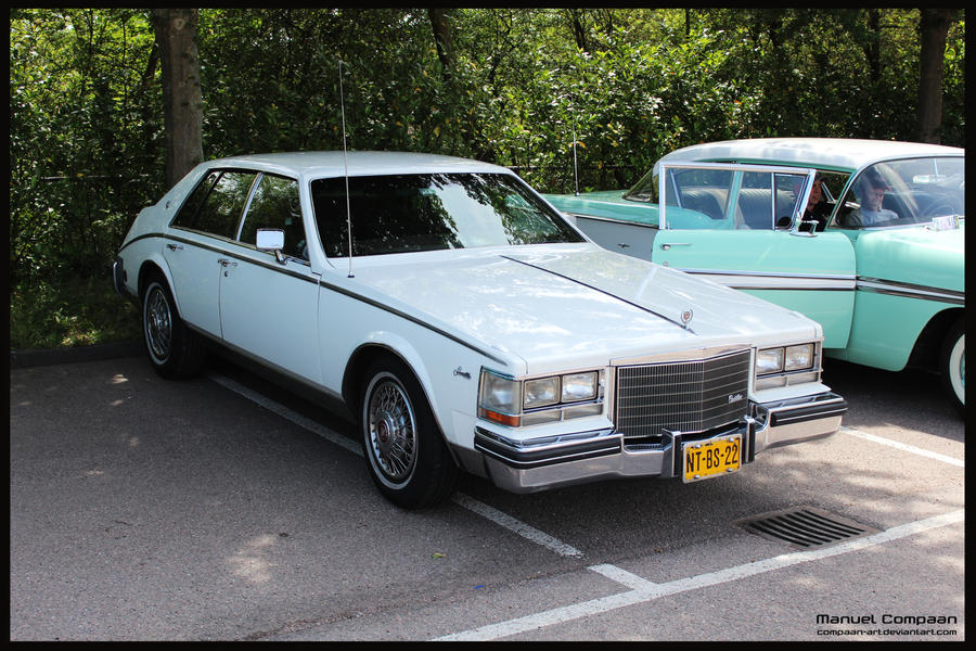 1983 Cadillac Seville by compaan-art on DeviantArt
