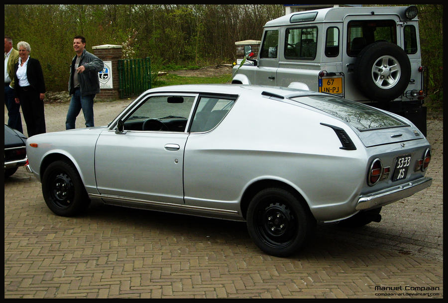 1973 Datsun 120A Cherry Coupe by compaan-art on DeviantArt