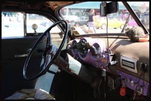 1951 DeSoto Suburban Interior