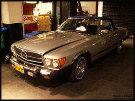 1981 Mercedes 380SL by compaan-art