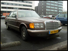 1981 Mercedes-Benz 280SE by compaan-art