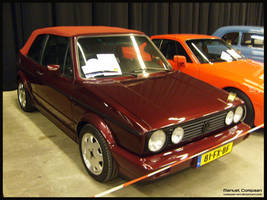 1988 VW Golf Cabrio by compaan-art