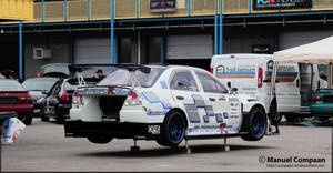 Mitsubishi Lancer Evo Time-Attack